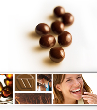 chocolate balls image